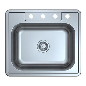 Omax Stainless Steel Kitchen Sink Single Bowl Drop in