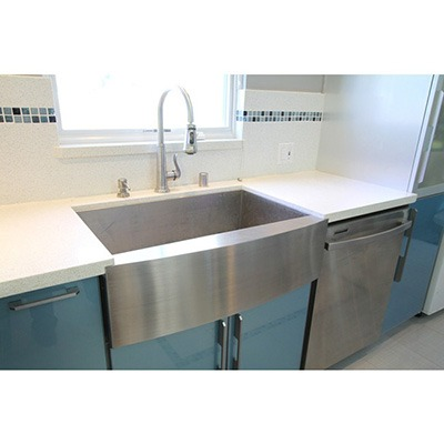 Omax Stainless Steel Apron Kitchen Single Bowl Sink
